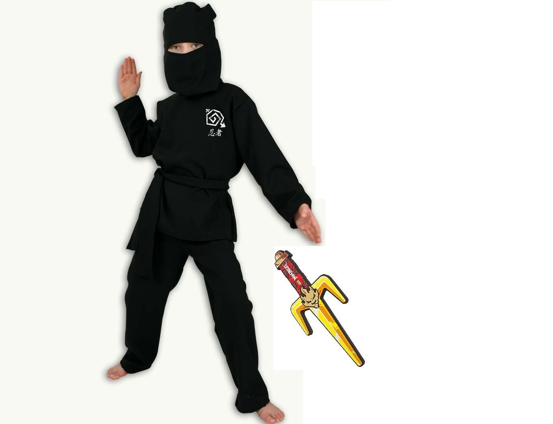 Disfraz de Colour negro Ninja, 2 piezas. De disfraz de grupo de ...