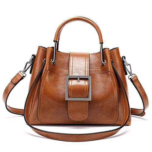 Marrón 2018 Spring diagonale gris Retro Shoulder femminile Classic hlh portatile Borsa Handbag ZTxw5PqwE