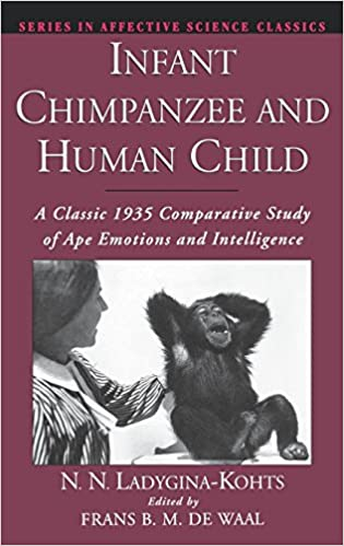Amazon com: Infant Chimpanzee and Human Child: A Classic