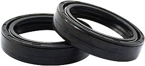 Cyleto Front Fork Oil Seal 35 x 48 x 11mm for Kawasaki EX250F EX250 F Ninja 250R 250 1986 1987 / EN450A 454 LTD 1985 1986 1987 1988 1989 1990