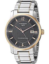 Tissot Men's T0874075506700 T-Classic Analog Display Swiss Automatic Silver Watch