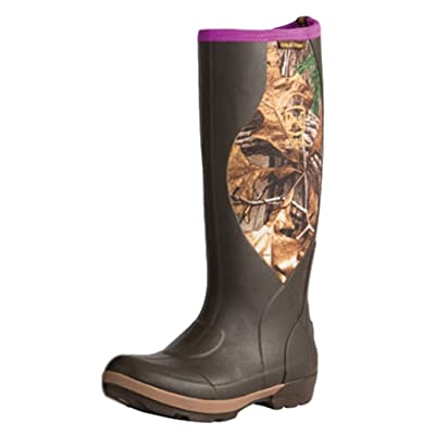 Noble Outfitters Womens Cold Front High Boots (Camo