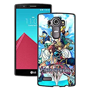 For LG G4,Kingdom Hearts 1 Black Case Cover For LG G4