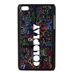 ROBIN YAM Fashion Coldplay Hard Shell Flexible Slim Cover Case for iPod Touch 4, 4th Generation -FRY182