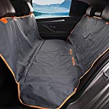 ROHUA XL(64x56 inches) Pet Seat Cover - Hammock Convertible with Side Flaps - Durable Oxford 100% Waterproof - Cool Touch - Cargo Cover -Universal for Cars - SUVs & Trucks - Grey