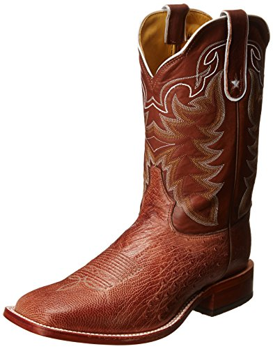 Tony Lama Men's Vintage Smooth Ostrich Western Boot,Chocolate,7.5 EE (Vintage Cowboy Boot)