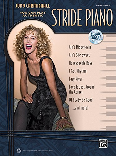 Judy Carmichael -- You Can Play Authentic Stride Piano: Book & CD