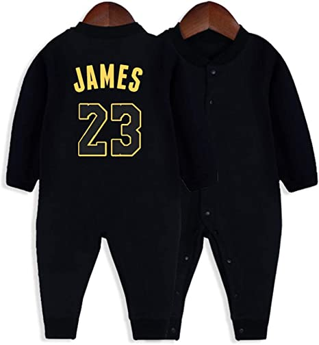 Los Angeles Lakers Black//Gold Homemade baby bodysuit.