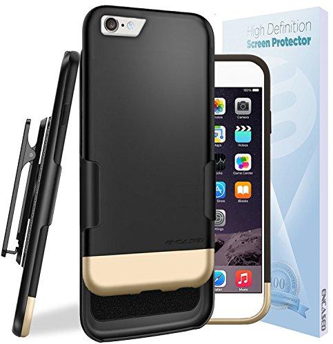iPhone Soft touch Slider Holster Encased