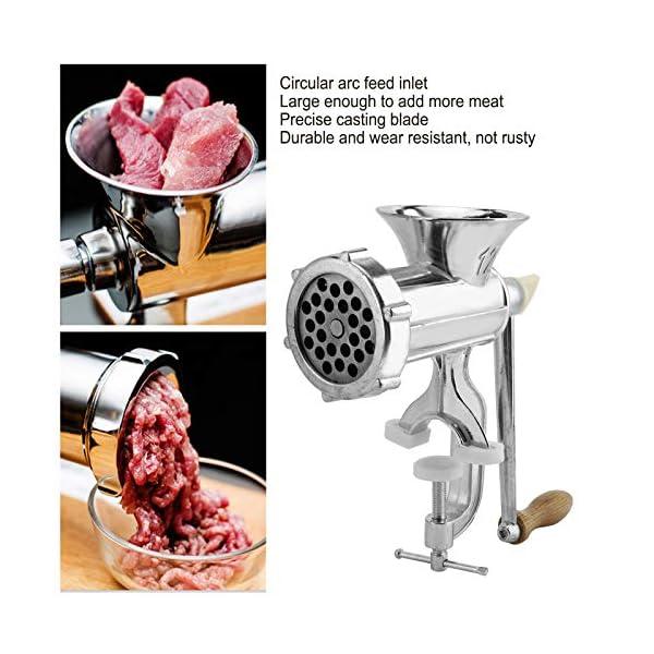 Tritacarne, tritacarne manuale multifunzione, per carne di maiale 3