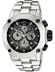 Invicta Mens 19428 S1 Rally Silver-Tone Stainless Steel Watch