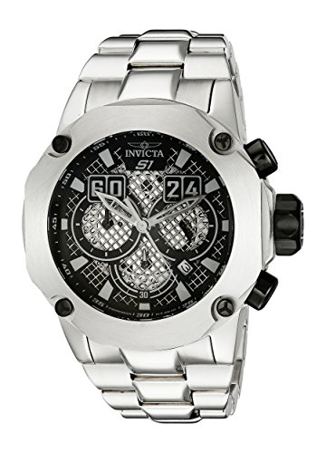 Invicta Men's 19428 S1 Rally Silver-Tone Stainless Steel Watch