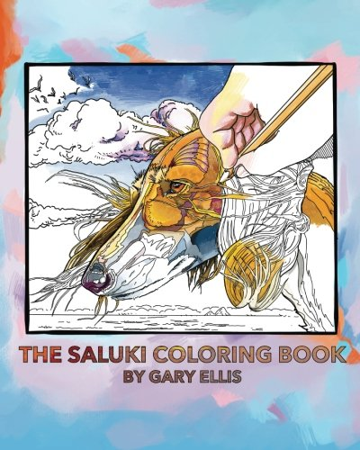 The Saluki Coloring Book