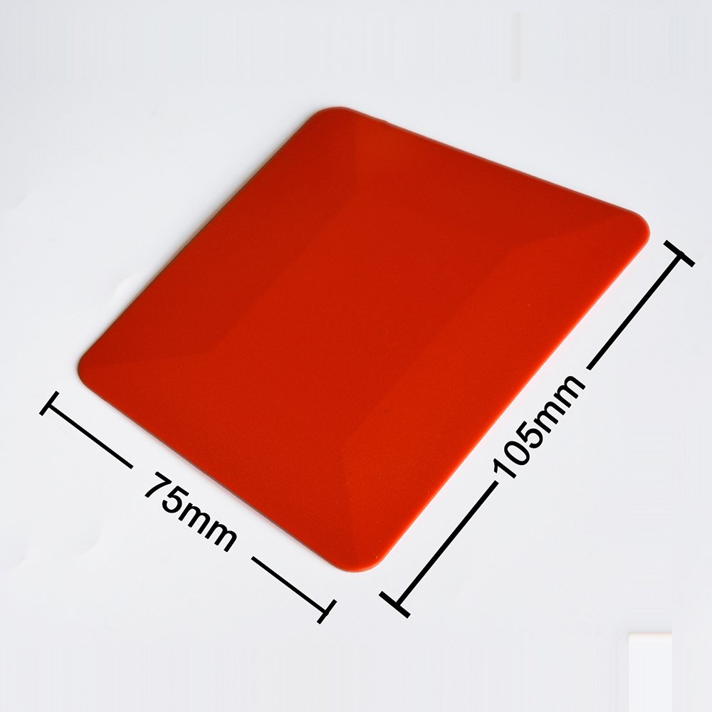 2PCS 4 Teflon Card Window Tint Soft Car Squeegee Window Film Tools for Auto Wrap Both Flat and Curved Glass Surfaces Ehdis