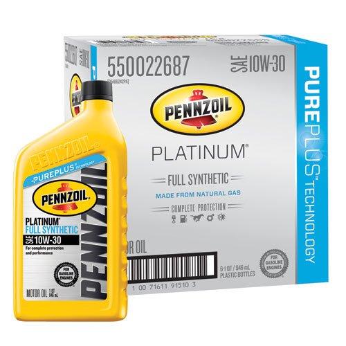 pennzoil-550022687-6pk-platinum-10w-30-full-synthetic-motor-oil-1-quart-pack-of-6