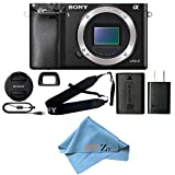 Sony Alpha a6000 Mirrorless Digitial Camera 24.3MP SLR Camera with 3.0-Inch LCD (Black) (Body Only, Cloth Only) Review