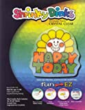Shrinky Dinks Crystal Clear 10 sheet pack