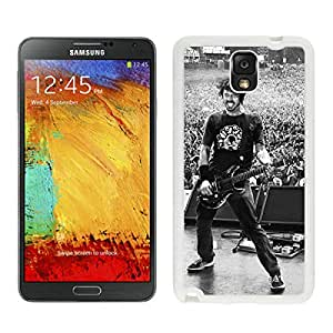 Samsung Galaxy Note 3 foo fighters dace grohl White Screen Phone Case High Quality Durable Cover