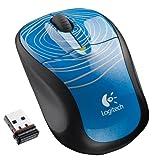 Logitech Wireless Mouse M305 (Blue Swirl)