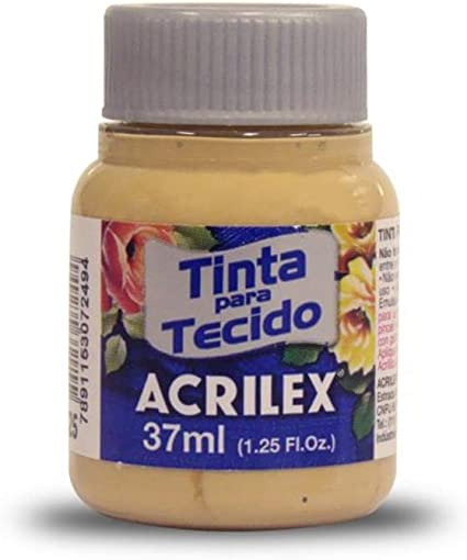 Acrilex Pintura Textil al Agua Gamuza 37ml Ref. 525: Amazon ...