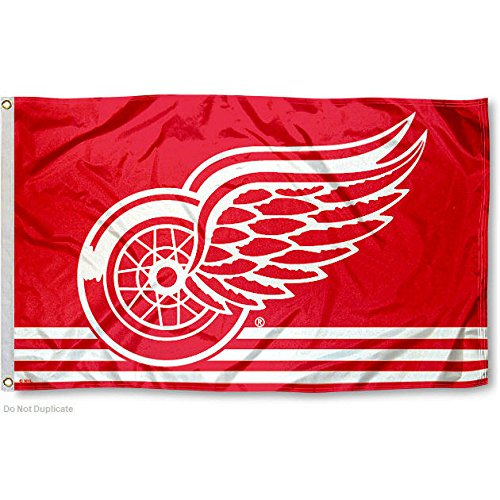 Price comparison product image Detroit Red Wings Flag 3x5 Banner