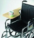 Wheelchair Tray Half-Lap Wood Flip-Away for Full Arm