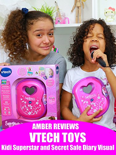 Amber Reviews Vtech Toys Kidi Superstar and Secret Safe Diary Visual