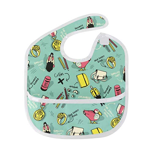 Fashion Design Baby Bibs Waterproof, Washable, Stain and Odor Resistant for Boys - Fashion Netbook