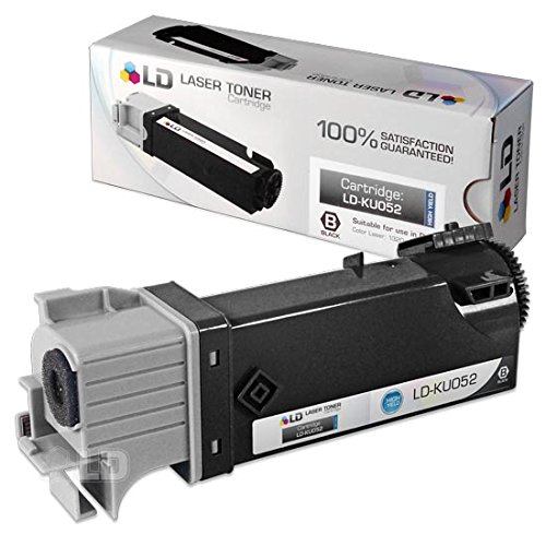 Dell 1320c / 1320 Black Toner - Compatible Replacement for D