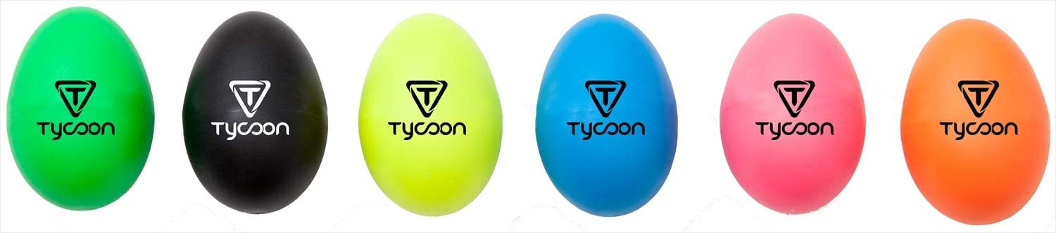 Tycoon Percussion Plastic Egg Shakers Pink