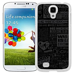 New Beautiful Custom Designed Cover Case For Samsung Galaxy S4 I9500 i337 M919 i545 r970 l720 With Scripture (2) Phone Case