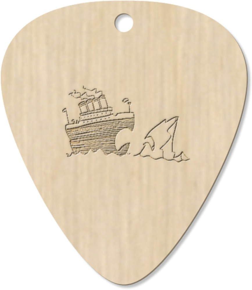 Azeeda 7 x Titanic & Iceberg Guitarra Púa (GP00017301): Amazon ...
