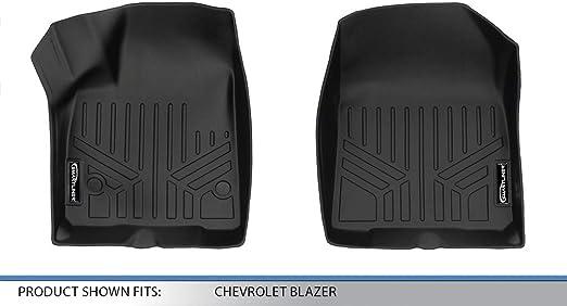 MAXLINER Custom Fit Floor Mats 2nd Row Liner Black for 2019-2020 Chevrolet Blazer