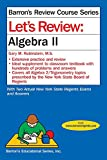 img - for Let's Review Algebra II (Let's Review Series) book / textbook / text book