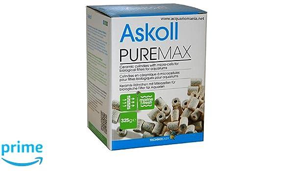 Askoll Canolicchi Pure Max Gr 325, Materiale Filtrante per Filtro Acquario: Amazon.es: Hogar