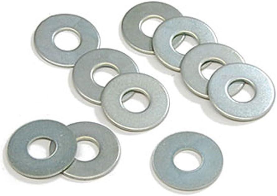 Aexit 50 PCS Nuts Clamp Repair Screw Metal Washers 6.4mm Panel Nuts Inside Diameter