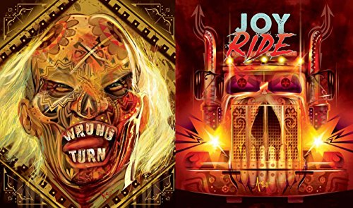 Joy Ride & Wrong Turn Special Cover DVD Double Feature Horror ()