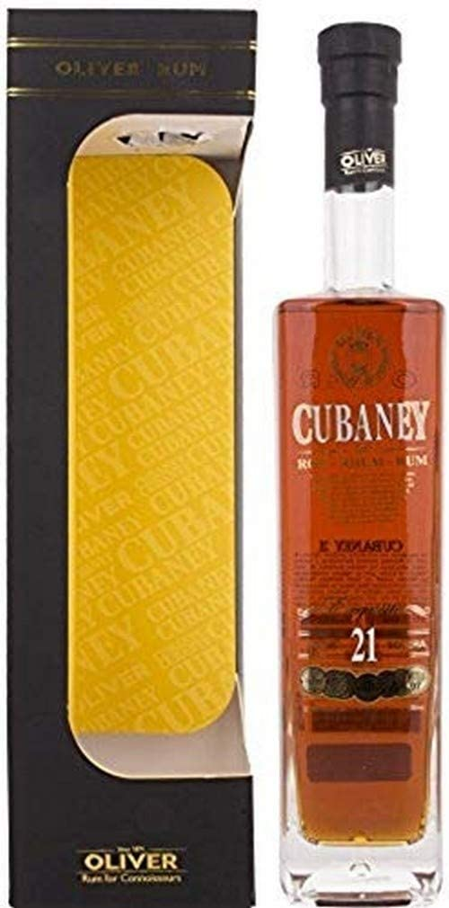 Cubaney 21 Years Old Exquisito Extra Premium Aged Rum - 700 ml