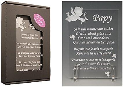 1 Poème Papy – Ange Cl (Cadeau pour la fête des Grands Pères, Noël