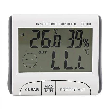 Termómetro para refrigerador - Termómetro digital para congelador ...