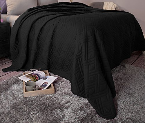 quilts king size black - 1