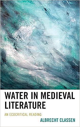 Descargar Libros Water In Medieval Literature: An Ecocritical Reading Donde Epub