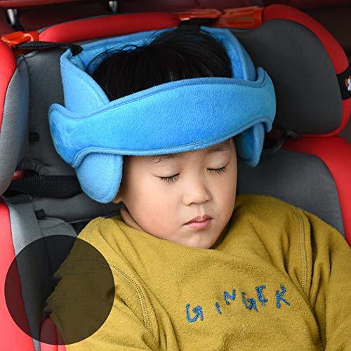 Justdodo C/ómodo Asiento de ni/ño Asientos de cabeza para beb/és Cabeza fija Almohada para dormir Seguridad para el autom/óvil Parque infantil Reposacabezas Soporte para la almohadilla