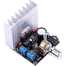 Yeeco DC 12V 35W+35W Digital Audio Power Amplifier Board 2.0 Dual-Channel Stereo Amp Board Amplify Module for 20W-120W Floor Speakers Bookshelf Speakers