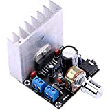 Yeeco DC 12V 35W+35W Digital Audio Power Amplifier Board 2.0 Dual-Channel Stereo Amp Board Amplify Module for 20W-120W Floor Speakers Bookshelf Speakers