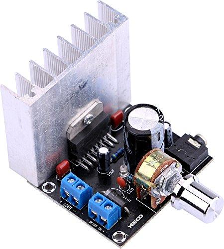Amplifier Component Digital Audio (Yeeco DC 12V 35W+35W Digital Audio Power Amplifier Board 2.0 Dual-Channel Stereo Amp Board Amplify Module for 20W-120W Floor Speakers Bookshelf Speakers)