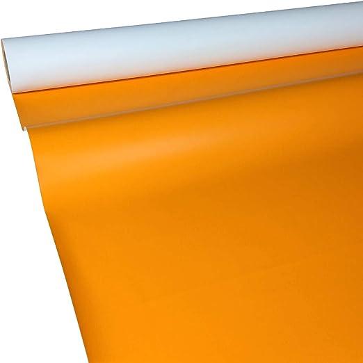 Mantel de papel, mesa bandas y – Camino, papel, naranja, 50 m x 1 ...