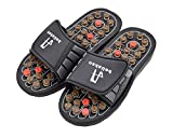 Kkika Rotating Accupressure Massage Men Shoes and Women Shoes Foot Massager Sandals for Man (8.5-9.5)/Women (10-11)