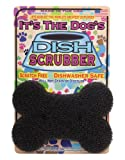 JetzScrubz Pet Dish and Bowl Scrubber Sponge, Dog, Made in The USA, Set of 1