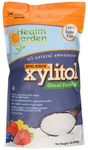 Xylitol Health Garden Kosher Birch 1 lb (Not From Corn)